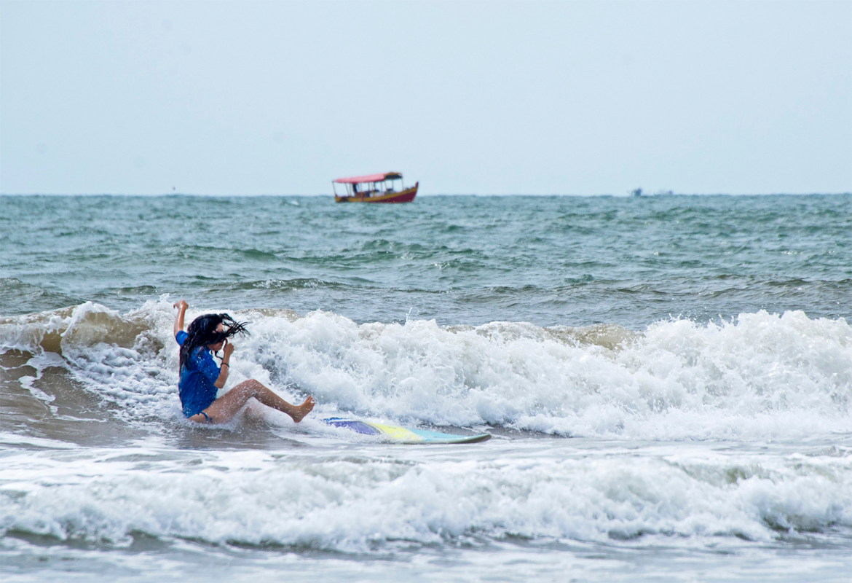 Como surfar: Haja caldo